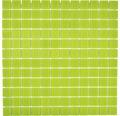 Sklenená mozaika CM4SE70 Crystal uni zelená 30x30 cm