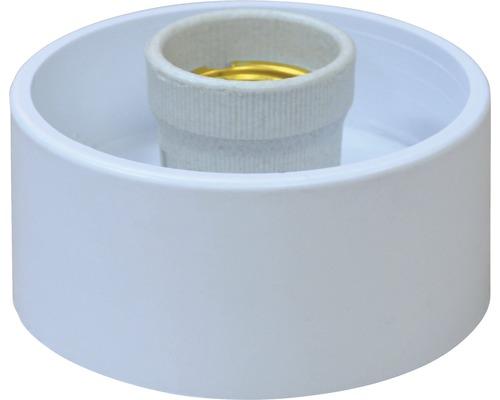 Objímka s plastovou armatúrou 60W/E27 rovná