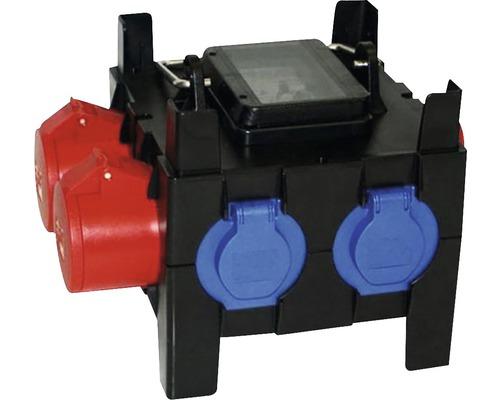 Mobilný rozvádzač CEE IP44, pre stavby