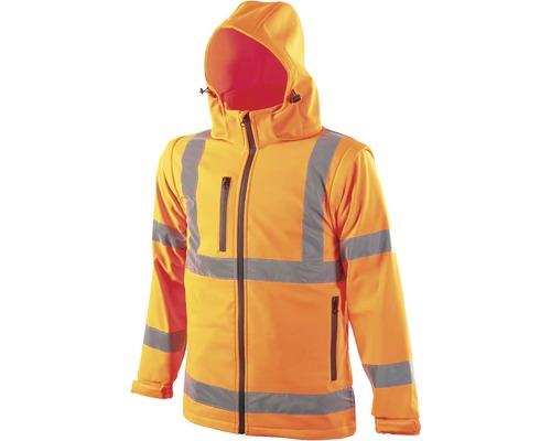 Reflexná bunda REF502 oranžová M
