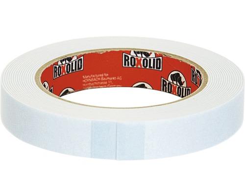 Obojstranná lepiaca páska ROXOLID 19 mm x 5 m, biela