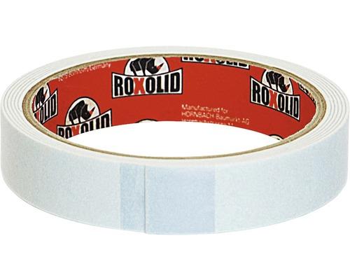 Obojstranná lepiaca páska ROXOLID 19 mm x 1,5 m, biela