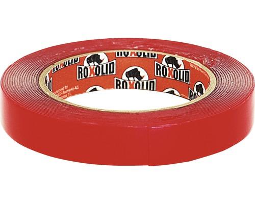 Obojstranná lepiaca páska ROXOLID 19 mm x 5 m, transparentná