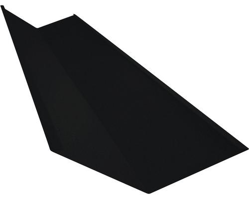 Žľabový plech čierny dĺžka 1 m