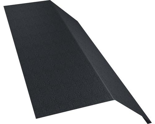 Žľabový záves bez vodnej drážky šedý dĺžka: 1,00m