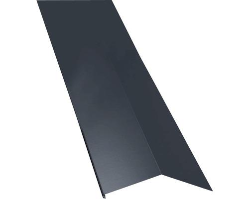 Záveterná lišta pre manzardy vonkajšie sivá dĺžka: 1,00 m