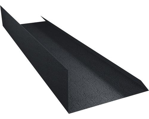 Záveterná lišta šedá dĺžka: 1,00m