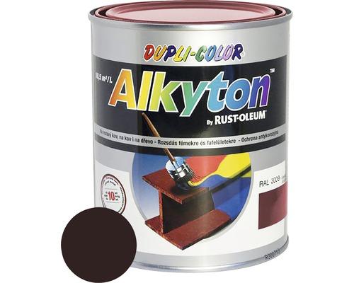 Lak na drevo Alkyton lesk 0,75 l čokoládovo hnedá RAL8017