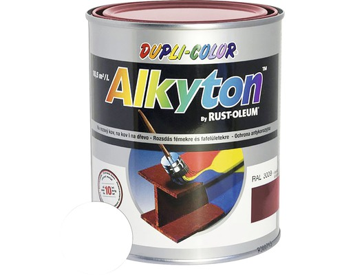 Lak na drevo Alkyton mat 0,25 l biela