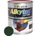 Farba na kov Alkyton satén 0,75 l machovo zelená RAL6005