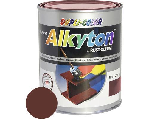 Farba na kov Alkyton lesk 0,25 l hnedá oriešková RAL8011