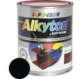 Farba na kov Alkyton mat 0,25 l čierna