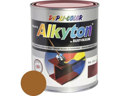 Farba na kov Alkyton lesk 0,75 l okrová hnedá RAL8001