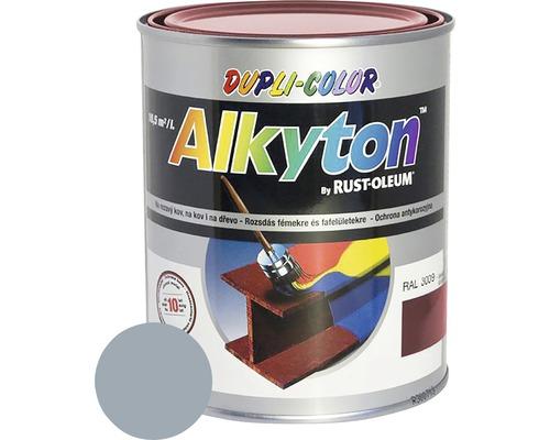Lak na drevo Alkyton lesk 0,25 l šedý hliník RAL9007