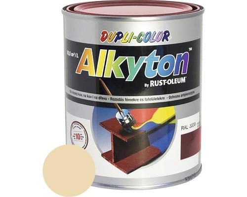 Lak na drevo Alkyton lesk 0,25 l slonová kosť RAL1015