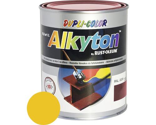 Lak na drevo Alkyton lesk 0,25 l horčicovo žltá RAL1021