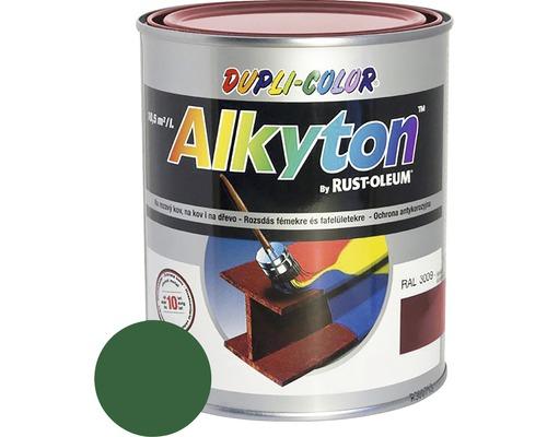 Lak na drevo Alkyton lesk 0,75 l smaragdovo zelená RAL6001
