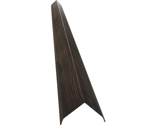 Vonkajší roh pre stenový panel orech 1 m