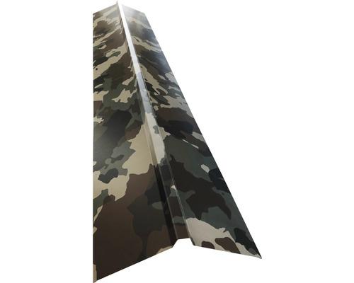 Hrebenáč rovný pre trapézový plech H12 kamufláž 95 x 95 mm x 1 m