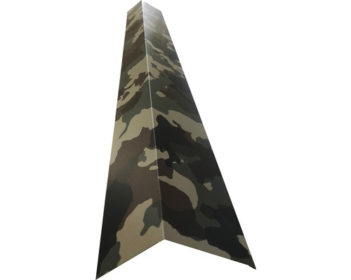 Štítová lišta pre podkrovné izby vonkajšia H12 kamufláž 1 m