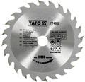 Kotúč na drevo Yato YT-6050, 130x16 mm 24z