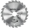 Kotúč na drevo Yato YT-6060, 184x30 mm 24z