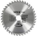 Kotúč na drevo Yato YT-6067, 210x30 mm 40z