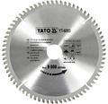 Kotúč na hliník YATO YT-6093, 210x30 mm 72z