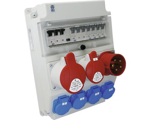 Zásuvková rozvodnica typ ROS11 / FI-Z prenosná