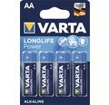 Alkalická batéria VARTA mignon high energy, 4 ks