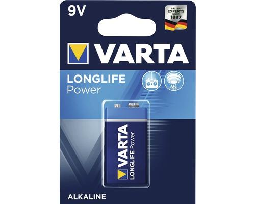 Alkalická batéria VARTA E-block high energy 9V
