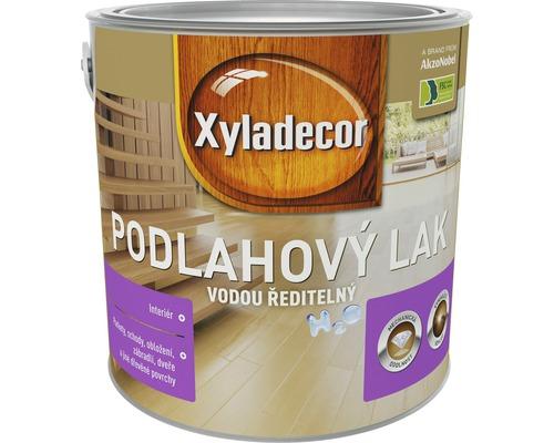 Podlahový lak XYLADECOR H20 lesklý 2,5 l
