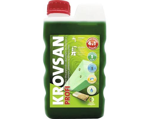 Ochranný prostriedok na drevo Krovsan Profi zelený 5 l