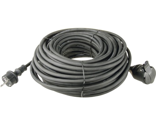 Predlžovací kábel 1Z 20m 1,5 mm guma