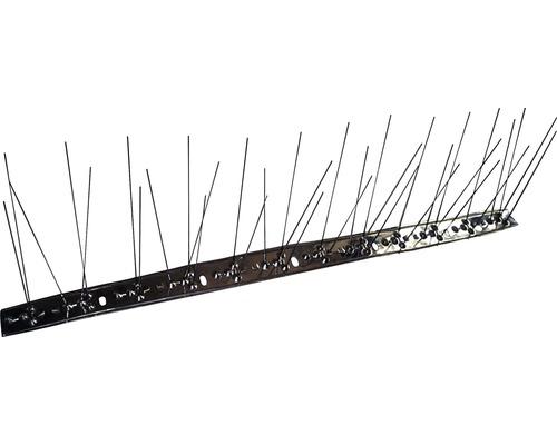 Hroty proti holubom 50x10cm, 36 hrotov nerez