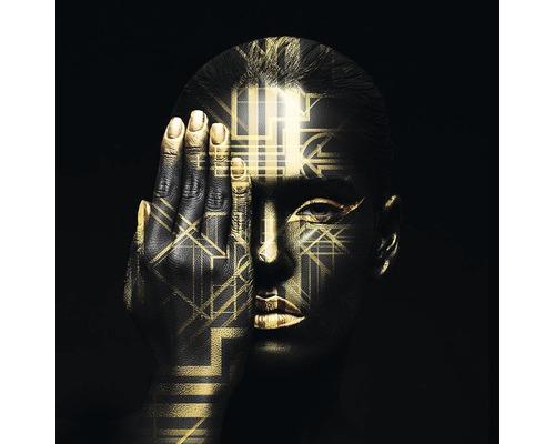 Sklenený obraz Man With View 50x50 cm