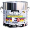 Penetračný náter na betón Betex 2v1 modrý 2 kg