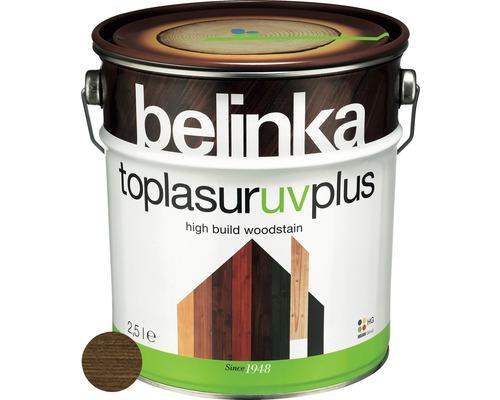 Silnovrstvá lazúra Belinka Toplasur orech 2,5 l