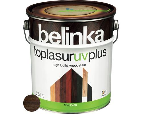 Silnovrstvá lazúra Belinka Toplasur palisander 2,5 l