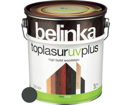 Silnovrstvá lazúra Belinka Toplasur grafitovo sivá 2,5 l