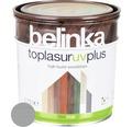 Silnovrstvá lazúra Belinka Toplasur platinovo sivá 0,75 l