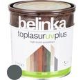 Silnovrstvá lazúra Belinka Toplasur grafitovo sivá 0,75 l