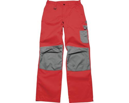 Pracovné nohavice Ardon 2STRONG červeno-sivé, veľkosť 50