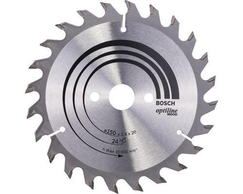 Pílový kotúč Optiline WO H 150x20 mm, Z 24