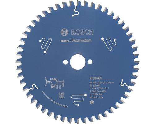 Pílový kotúč Expert AL H 165x20 mm, Z 52