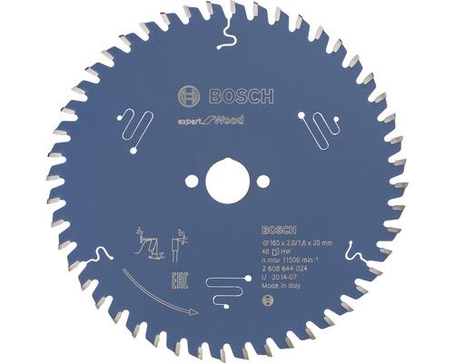 Pílový kotúč Expert WO H 165x20 mm, Z 48