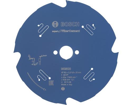 Pílový kotúč ExpertFiber CementØ 160x20 mm, 4