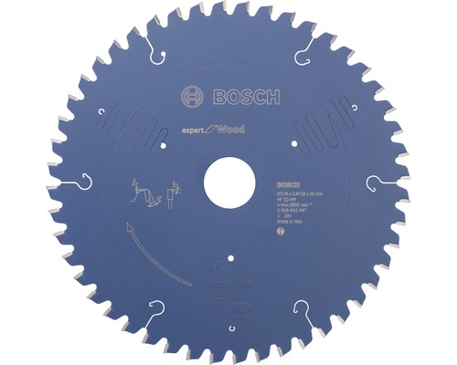 Pílový kotúč Expert drevo 216x30 mm, Z 48