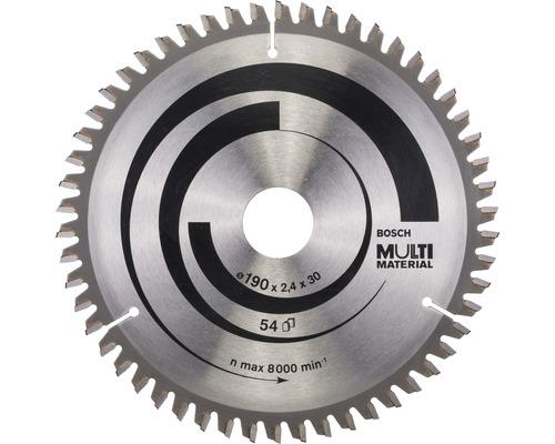 Pílový kotúč MULTI 190x30x2,4 mm