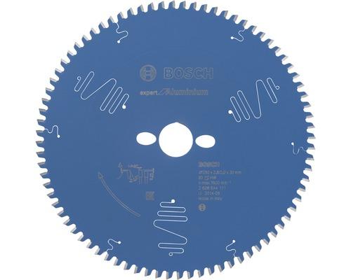 Pílový kotúč Expert hliník 250x30 mm, Z 80